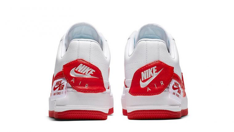Nike Air Force 1 Jester XX White Red 01