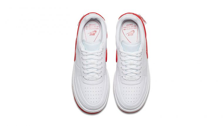 Nike Air Force 1 Jester XX White Red 02