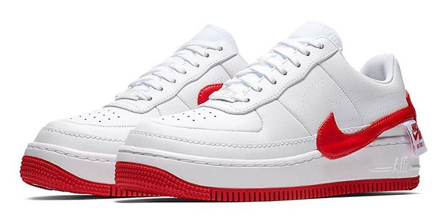 Nike Air Force 1 Jester XX White Red 03