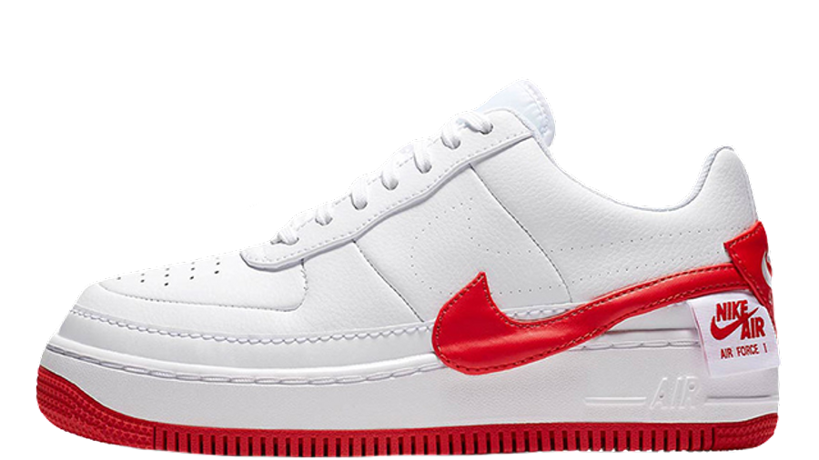 Nike Air Force 1 Jester XX White Red   Where To Buy   TBC ...