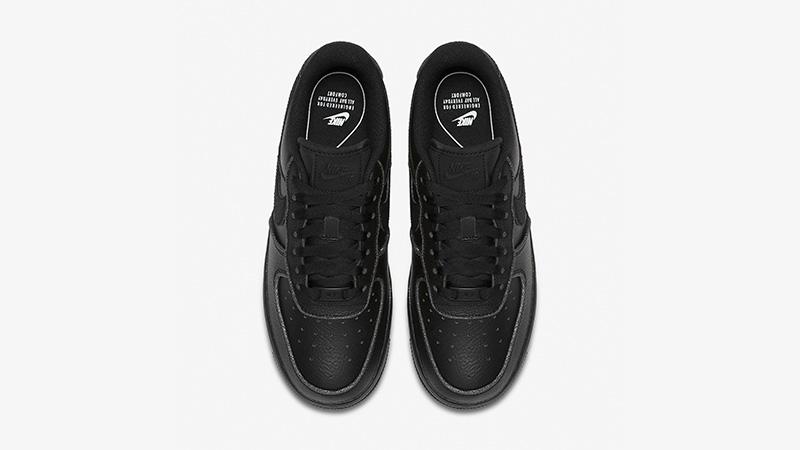 Nike Air Force 1 Low Black Womens AT0073-001 02