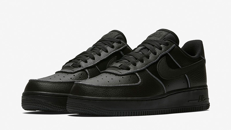 Nike Air Force 1 Low Black Womens AT0073-001 03