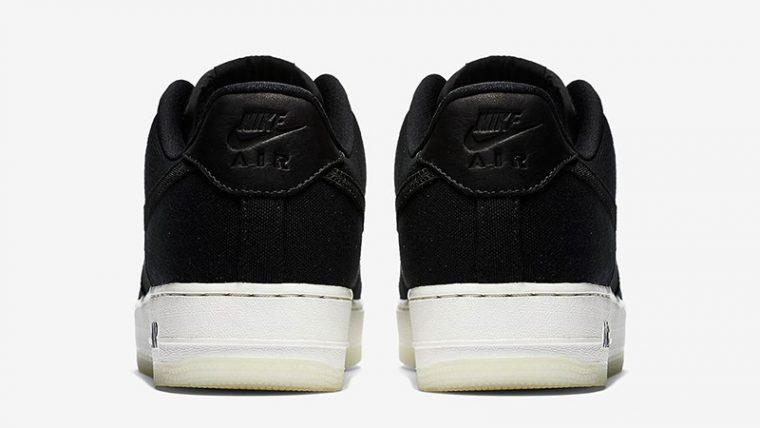 ca0eb0d6f001 Nike Air Force 1 Low Canvas Black AH1067-004 01