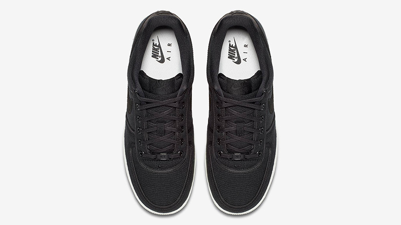 Nike Air Force 1 Low Canvas Black | AH1067 004