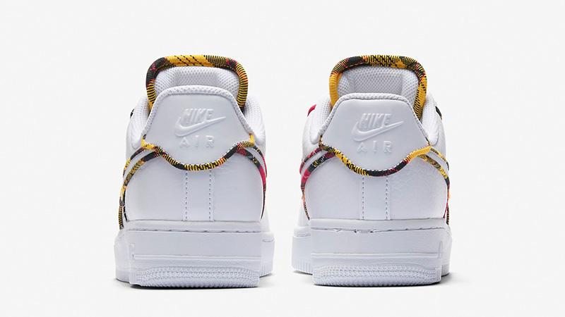 Nike Air Force 1 Low Tartan Shoes Free Shipping AV8218 100