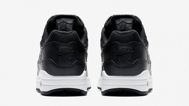 Nike Air Max 1 Premium Black White Womens AT0072-002 01 thumbnail image