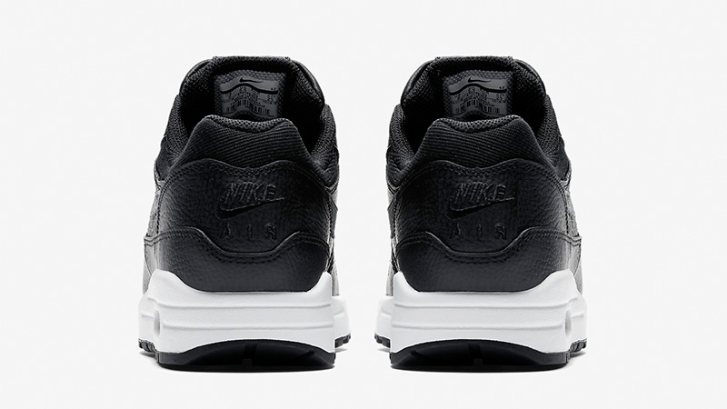 Nike Air Max 1 Premium Black White Womens AT0072-002 01