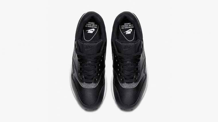 Nike Air Max 1 Premium Black White Womens AT0072-002 02 thumbnail image