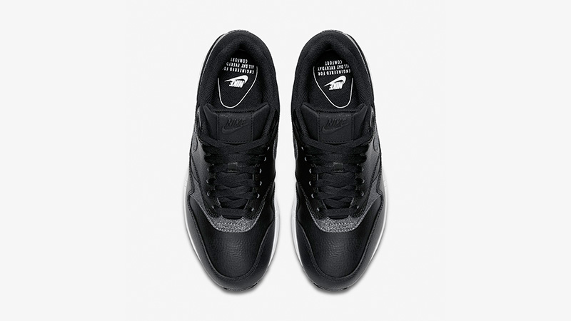Nike Air Max 1 Premium Black White Womens AT0072-002 02