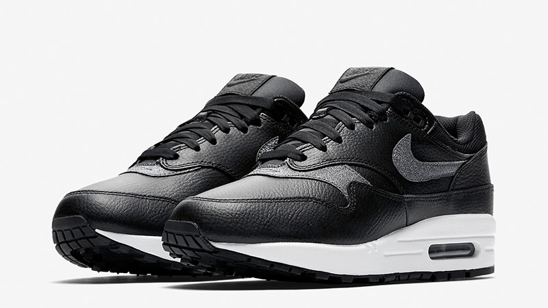 Nike Air Max 1 Premium Black White Womens AT0072-002 03