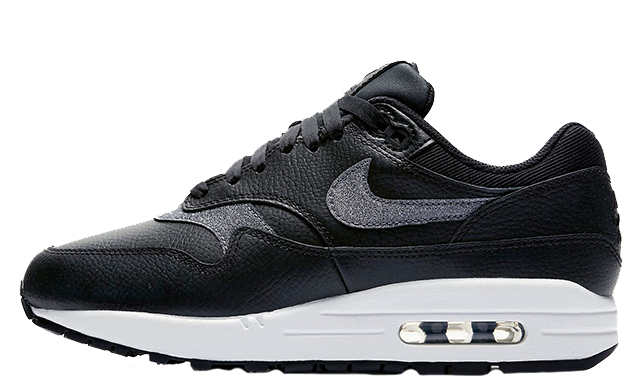 Nike Air Max 1 Premium Black White Womens AT0072-002