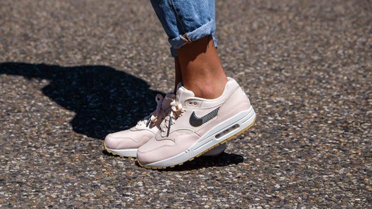Nike Air Max 1 Premium Guava Ice Womens 454746-800 thumbnail image