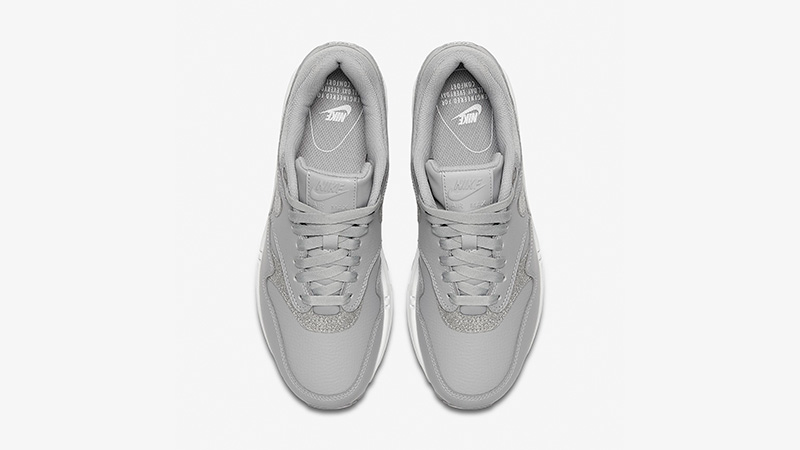 b9e8c7c485b44 Nike Air Max 1 Premium Wolf Grey Womens AT0072-001 02