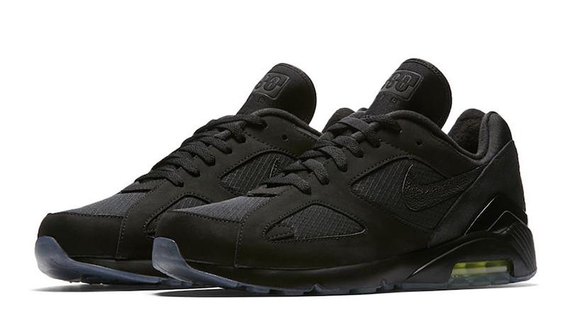 528a4a84b7 Nike Air Max 180 Black Volt   AQ6104-001   The Sole Womens