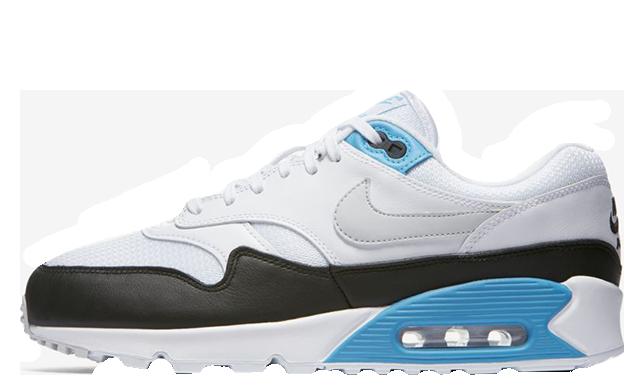 Nike Air Max 90 1 Laser Blue Womens AJ7695-104