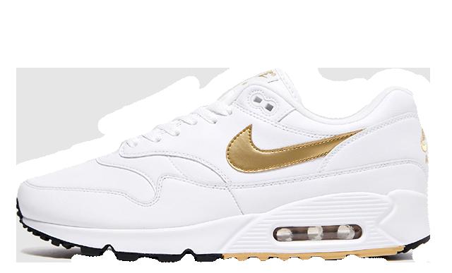 Nike Air Max 90 1 Metallic Gold AJ7695-102