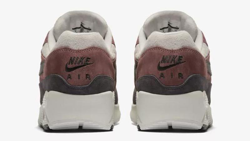3e865bbcd8 Nike Air Max 90/1 Red Sepia Womens | AQ1273-200 | The Sole Womens