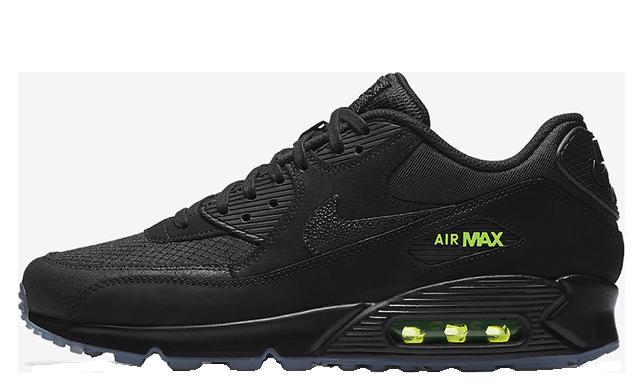 Nike Air Max 90 Black Volt AQ6101-001