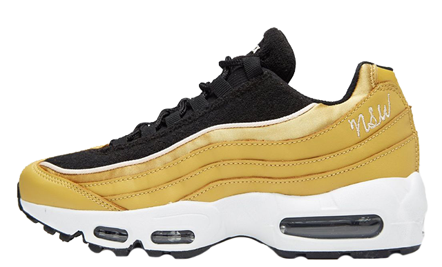 Nike Air Max 95 LX Gold Black Womens