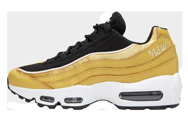 best cheap 42af2 b36da Nike Air Max 95 LX Gold Black Womens