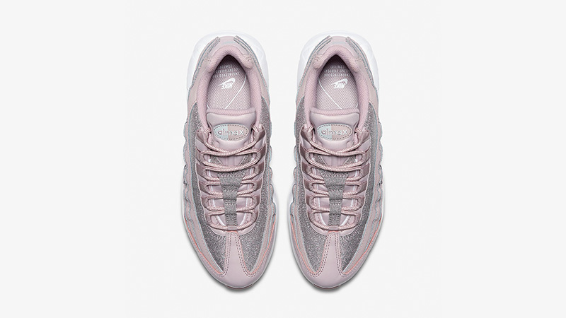 Nike Air Max 95 SE Particle Rose Glitter Womens | AT0068 600 | The Sole Womens