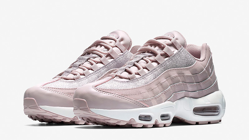 d1ee446531 Nike Air Max 95 SE Particle Rose Glitter Womens | AT0068-600 | The ...