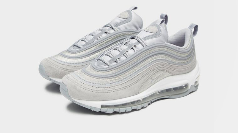 "Nike Air Max 97 OG Grey Silver ""Glitter Pack"" 
