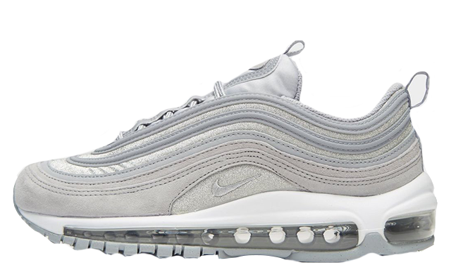 "info for 12031 d1cfc Nike Air Max 97 OG Grey Silver ""Glitter Pack"" 