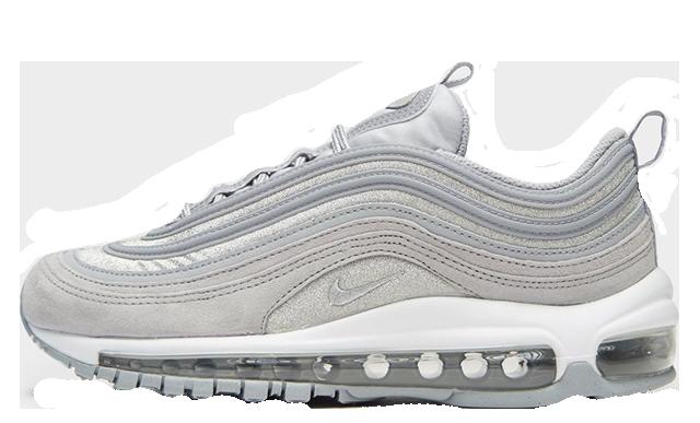 "Nike Air Max 97 OG Grey Silver ""Glitter Pack"" | AT0071 002"