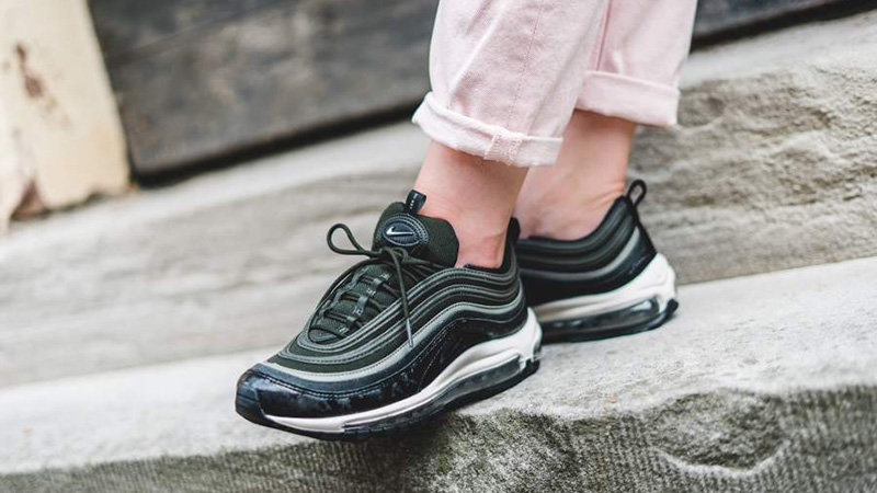 huge selection of b4d3c 5b28e Nike Air Max 97 Premium Sequoia Womens | 917646-300
