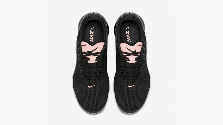 Nike Air VaporMax Black Pink Womens AT0070-001 02 thumbnail image