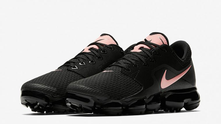 new style d40d7 55afb Nike Air VaporMax Black Pink Womens | AT0070-001