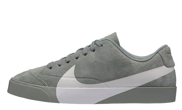 Nike Blazer Low Oversized Swoosh Pack Grey
