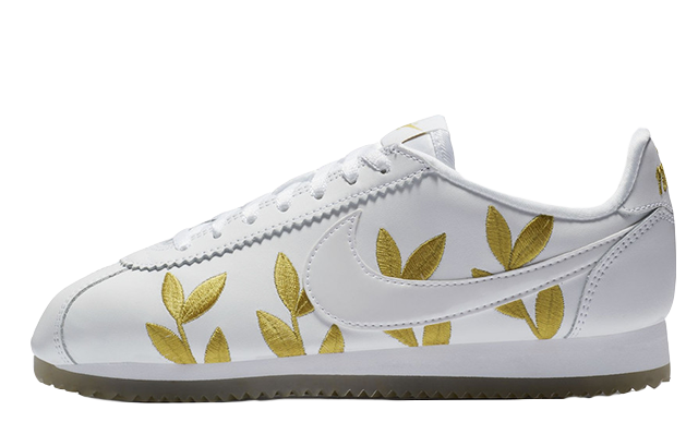 new style 5da0a f17a1 Nike Cortez White Gold | The Sole Womens