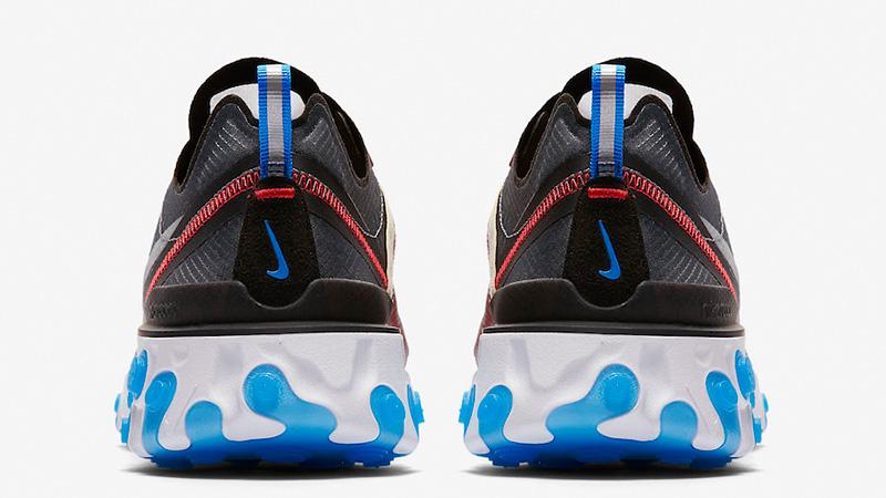 Nike React Element 87 Dark Grey   AQ1090-003