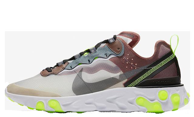 Nike React Element 87 Desert Sand | AQ1090-002