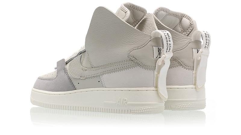 PSNY x Nike Air Force 1 High Silver Grey | AO9292 001