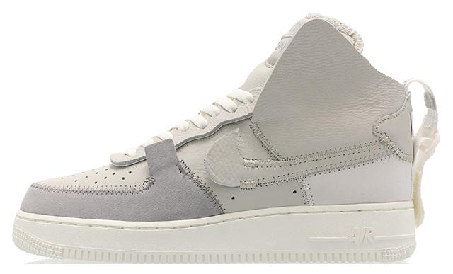 PSNY x Nike Air Force 1 High Silver Grey AO9292-001
