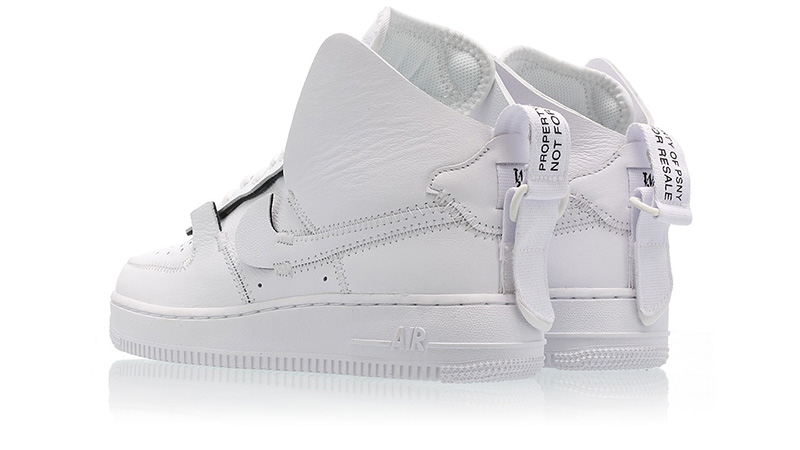 7ad78ef705b9d9 PSNY x Nike Air Force 1 High White AO9292-101 01