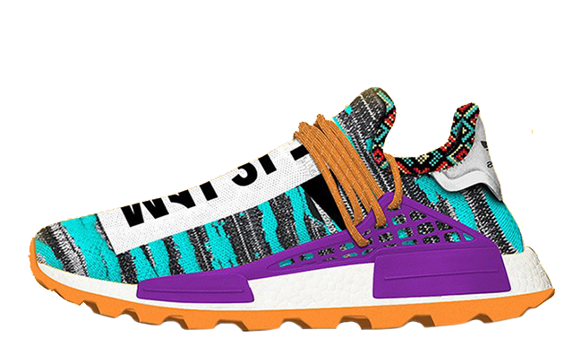 Pharrell x adidas Afro NMD Hu Pack Aqua Multi | BB9528