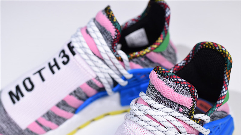 6561a8c1c Pharrell x adidas Afro NMD Hu Pack Red Multi