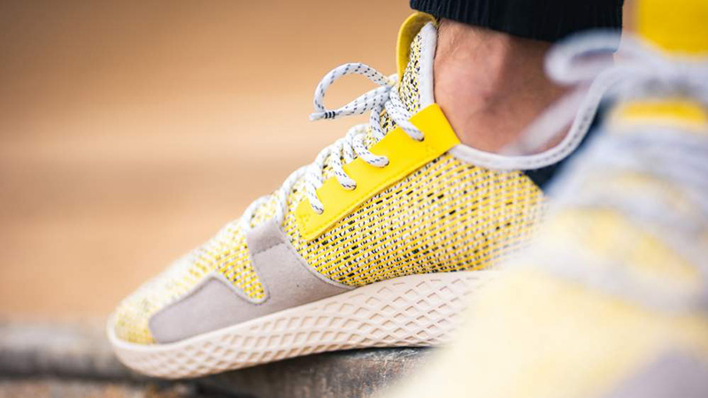 ca840c650 Pharrell x adidas Afro Tennis Hu V2 Yellow