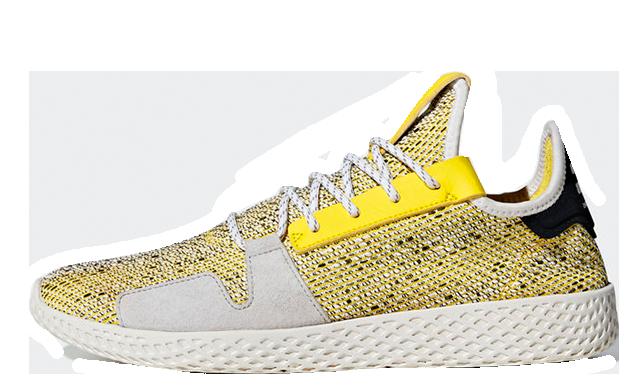 Pharrell x adidas Afro Tennis Hu V2 Yellow | BB9543
