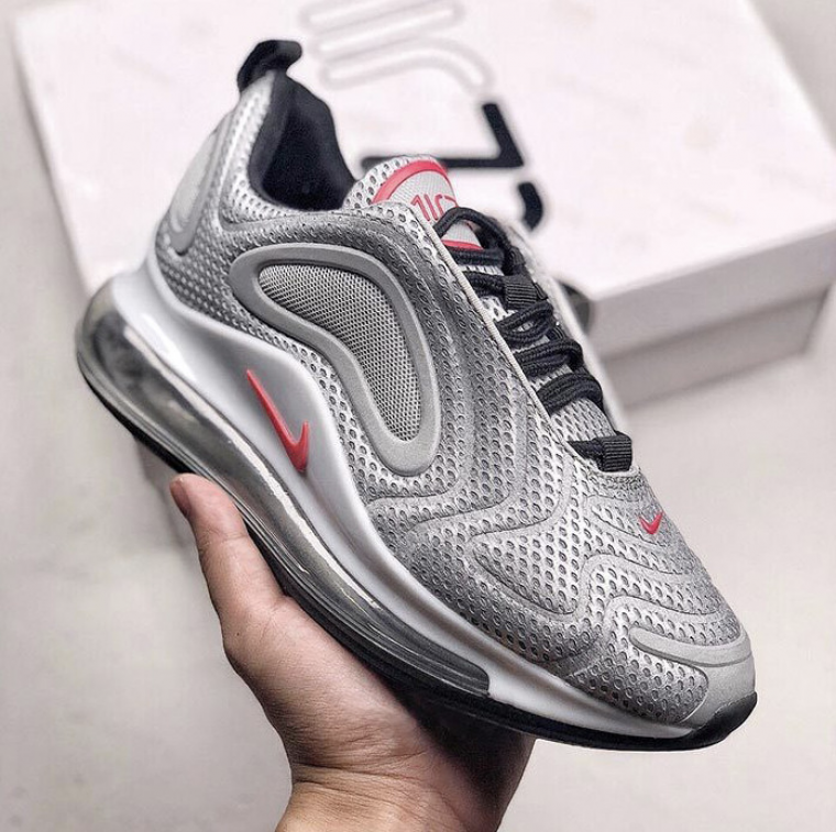 hot sale online 57b20 3f8fa air max 720 silver bullet