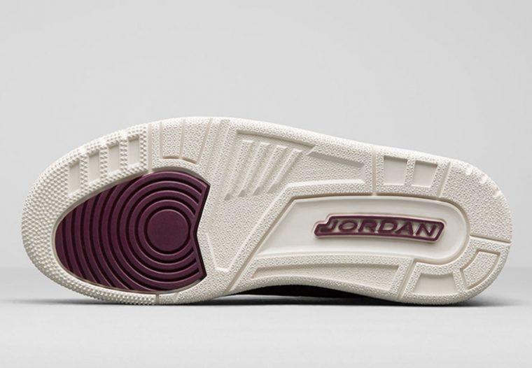 994a8ff850ec Air Jordan 3 Bordeaux Womens