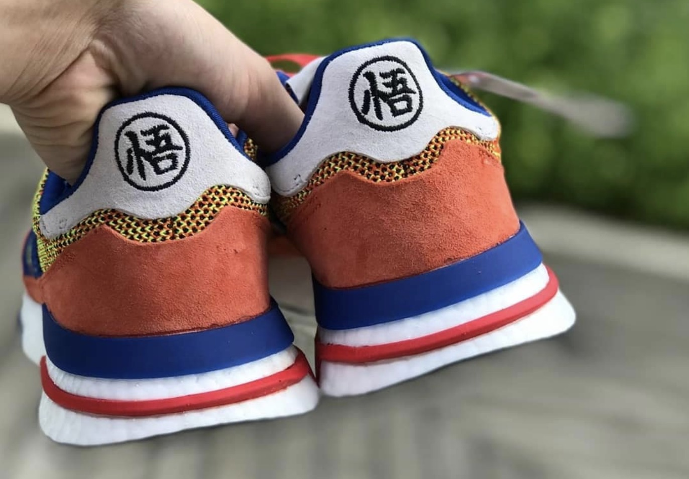 "on sale 41fef 76ee3 Dragon Ball Z x Adidas ZX500 RM ""Goku"" 