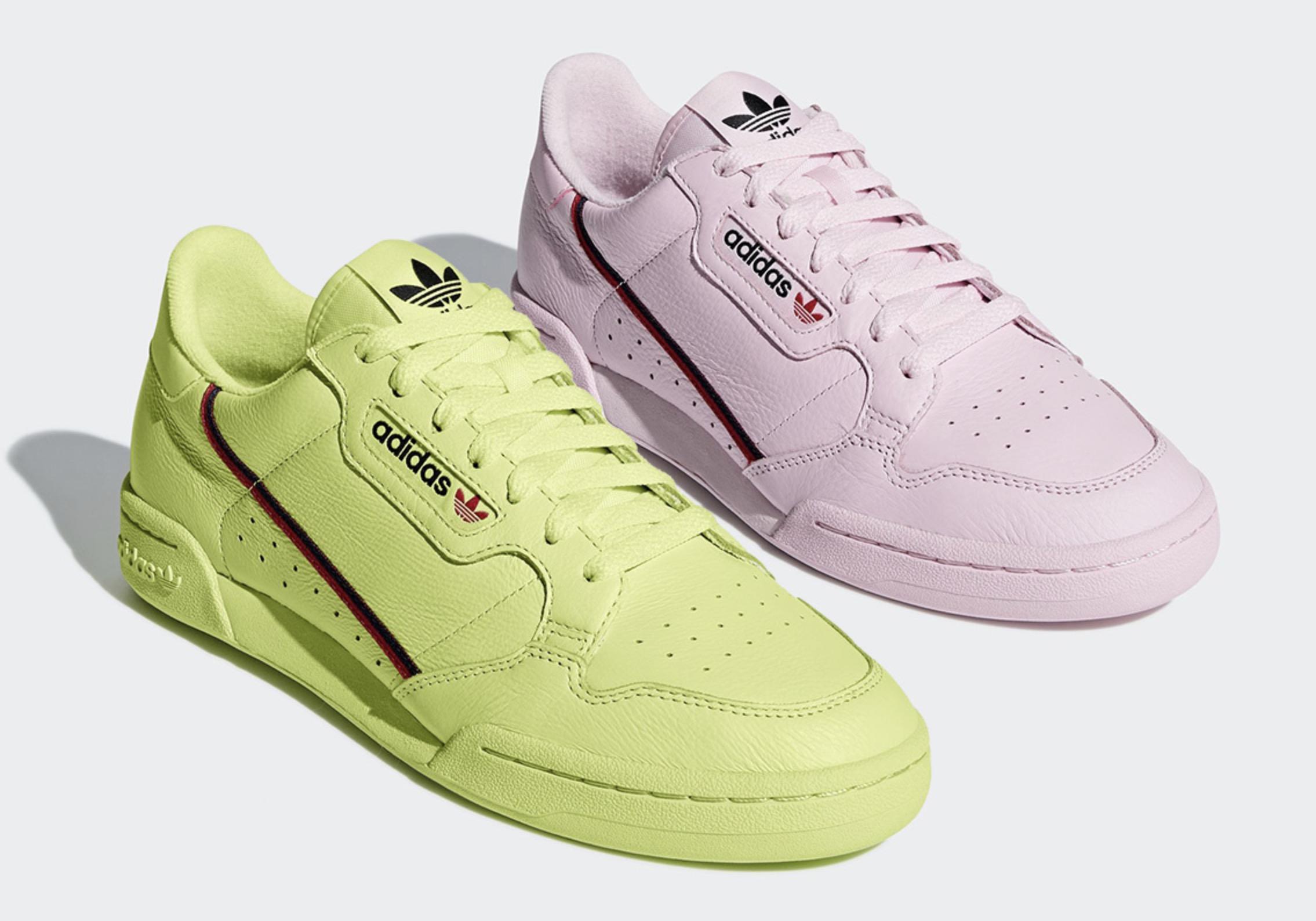 The Adidas Originals Continental 80 Gets a Pastel Makeover