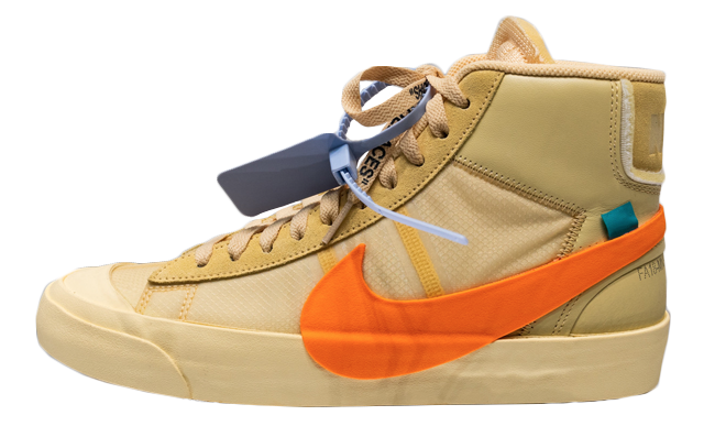 Off-White x Nike Blazer Tan