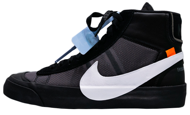 "online store 2bd3c cde25 Off-White x Nike Blazer Black ""Spooky Pack"""