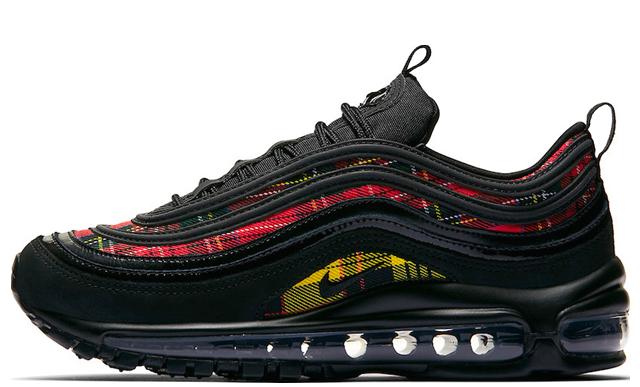 Nike Air Max 97 Tartan Pack Black Womens AV8220-001